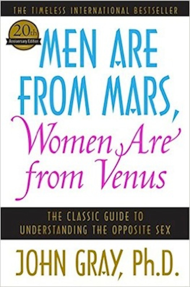 an analysis of the book men are from mars women are from venus by john gray How we made men are from mars, women are from venus john gray, whose 1992 book is still a bestseller came out of those brainstorms, mars and venus in the.
