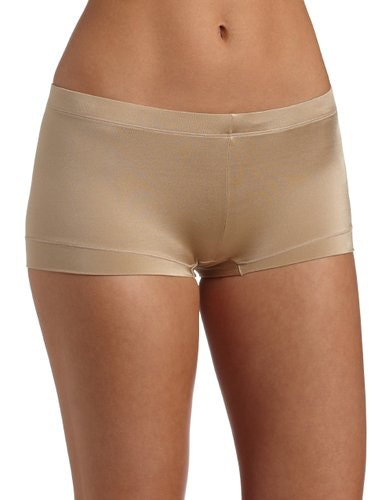Fabric: The best thing about these panties (besides the price) is the fabric. Amazon designed these with 95% cotton and 5% elastane. So they're extremely comfortable with a hint of stretch. Women with full hips and butts – Boy shorts and boy short thongs are just the thing to emphasize your assets, without constricting a bit of extra.