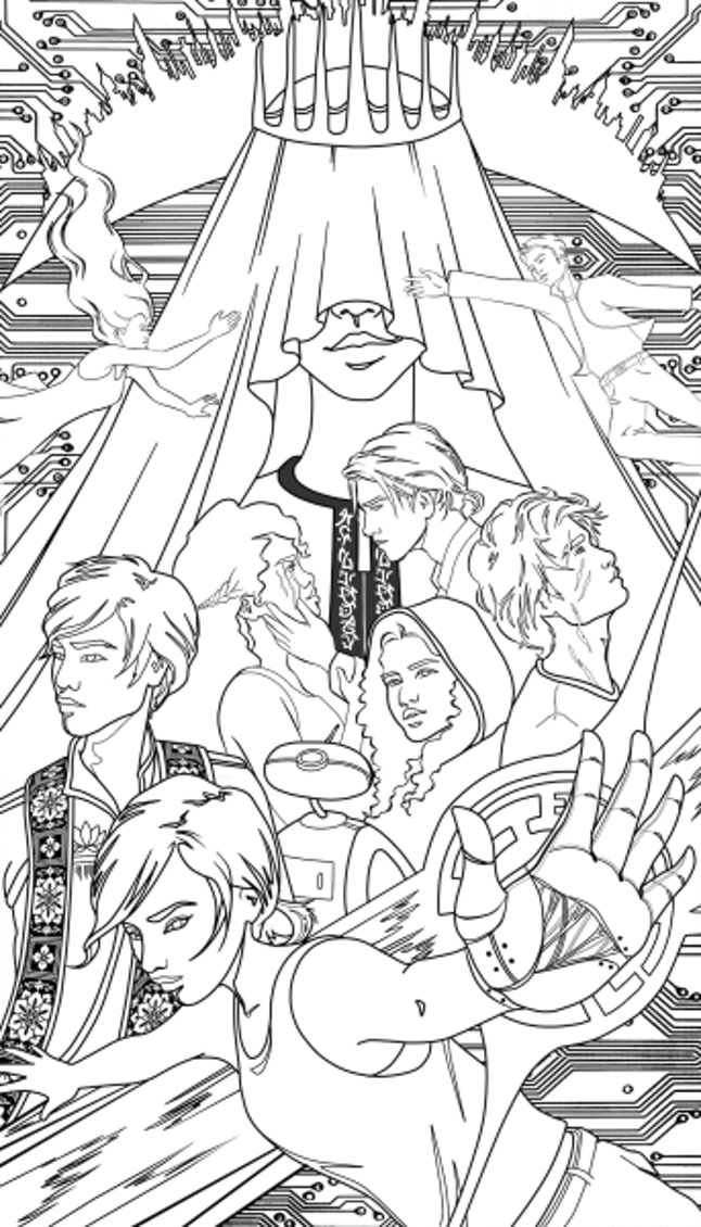 The Lunar Chronicles Coloring Book Is Coming Next Year Exclusive