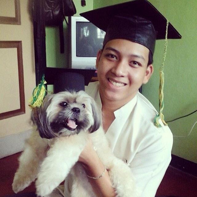 Great Graduation Cap Black Adorable Dog - 53a6a890-c346-0131-3e35-0e1764370741  Trends_792346  .jpg?w\u003d614\u0026fit\u003dmax\u0026auto\u003dformat\u0026q\u003d70