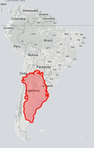 The true size map shows us everything we thought we knew about in reality greenland is not even as big as argentina sorry greenland gumiabroncs Images