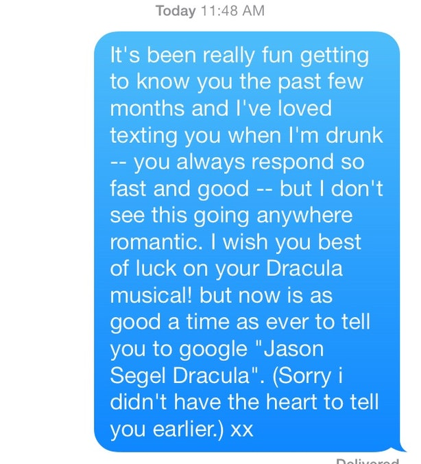 how to break up with a guy gently over text