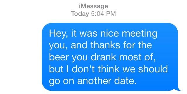 Just started hookup should i text him