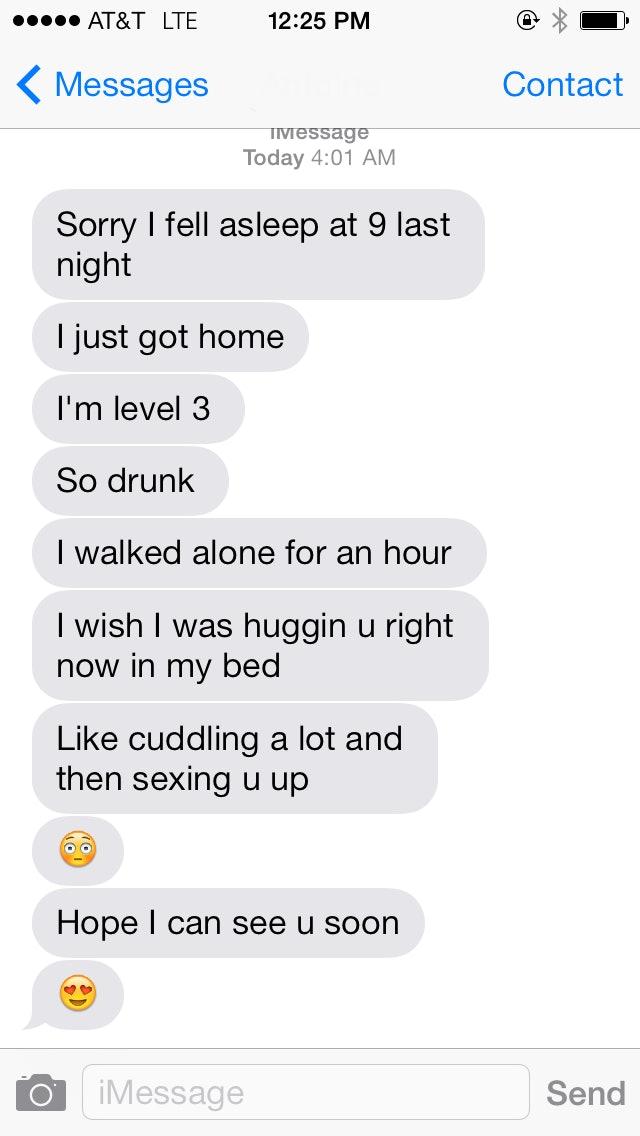 how do i get him to text me more