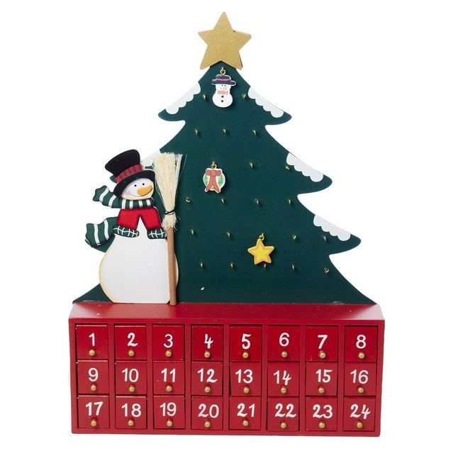 a pretty advent calendar to help with the christmas countdown
