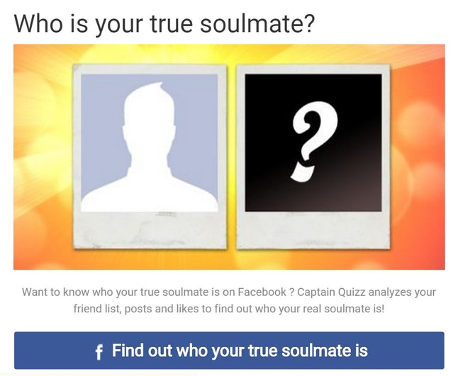 Tag Who Is My Soulmate Quiz Facebook