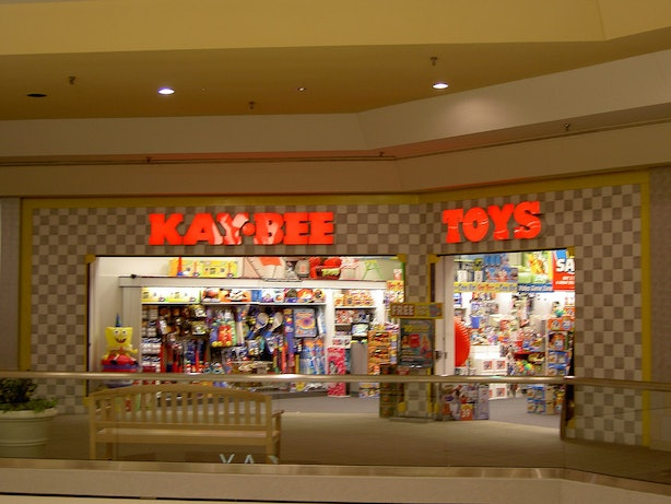 K Bee Toy Store 10 '90s Mall Stores Th...