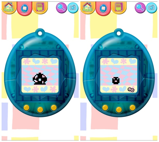 how to change the time on tamagotchi