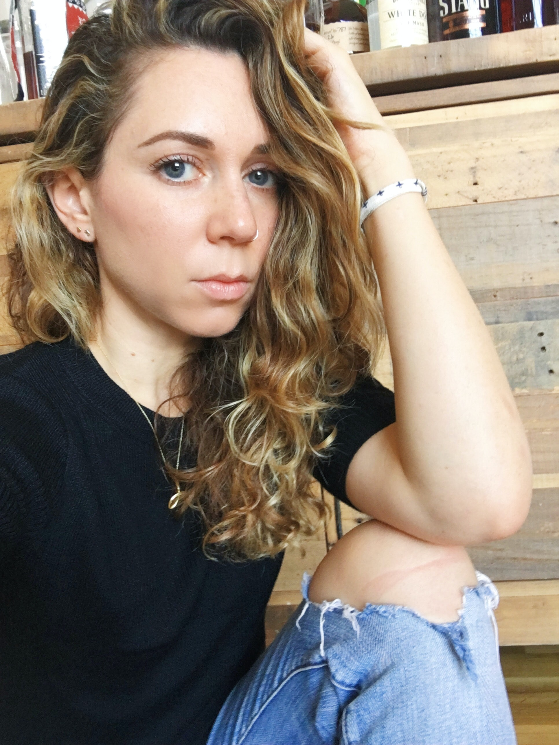 Girl with dildo photo