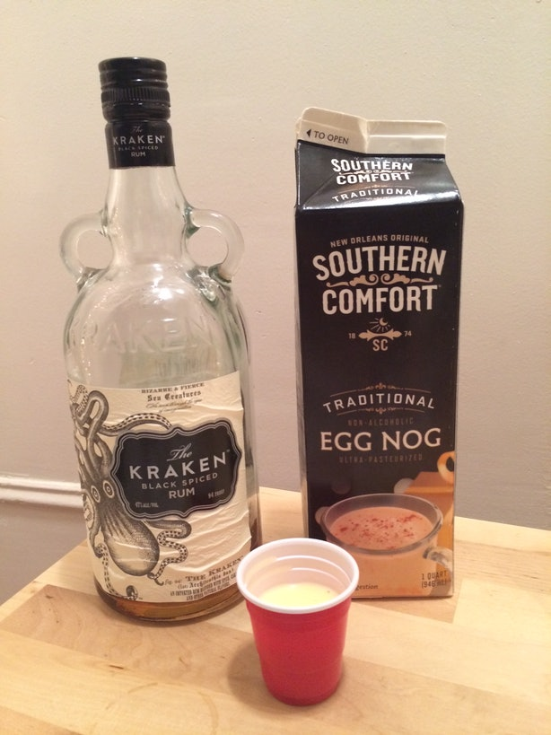 Which alcohol goes best with eggnog we did a taste test for What goes good with spiced rum
