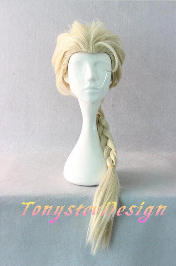 Tonystev Design Elsa Wig $18 ... & How to Dress Like Elsa From u0027Frozenu0027 in 6 Easy Steps Because It ...