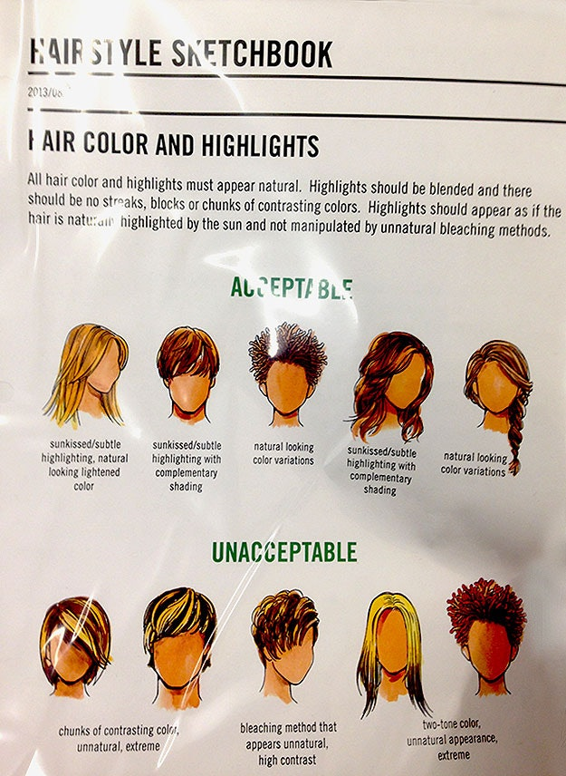 Abercrombie Fitch Hairstyle Sketchbook Released