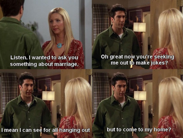 do ross and rachel hook up The one where ross hugs rachel episode 602 monica and chandler almost got married, do you think you and i should hook up phoebe: oh, we do, but not just yet.
