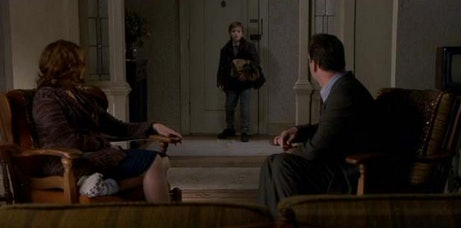 the sixth sense s biggest question years later did cole know  when we first meet malcolm we assume that cole s mother has hired him as most of what we see in the film is from malcolm s unreliable perspective