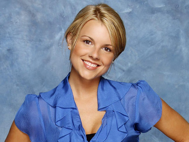 Ali Fedotowsky from Bachelorette