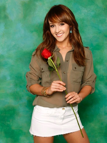 Ashley Hebert from The Bachelorette.
