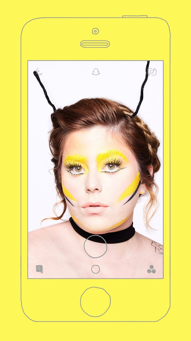 5 Easy Snapchat Filter Halloween Makeup Tutorials To Complete Your ...