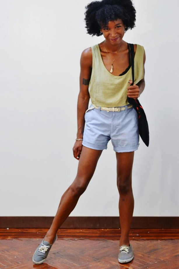 Skinny ebony lesbians