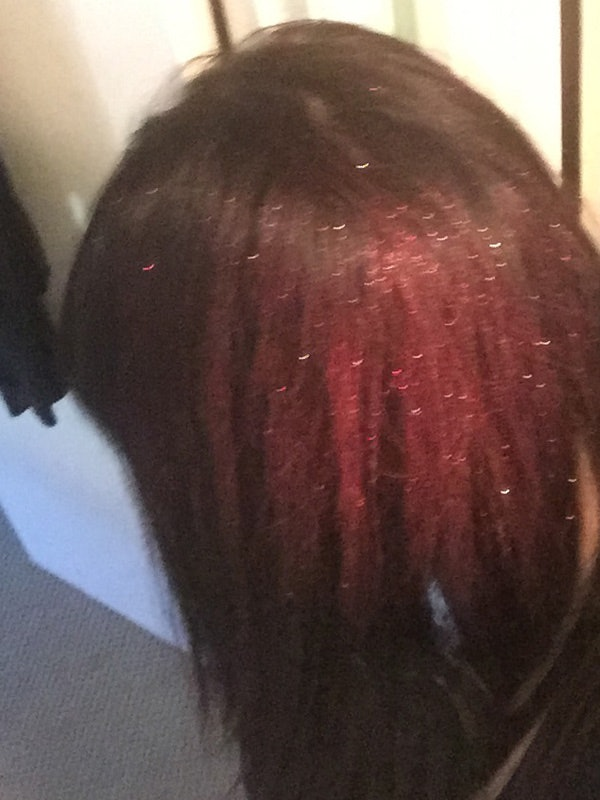 How To Color Dark Hair For Halloween Without Any Bleach Or