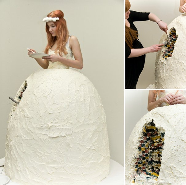 5 Wedding Dresses Made Of Books Shopping Bags And Basically