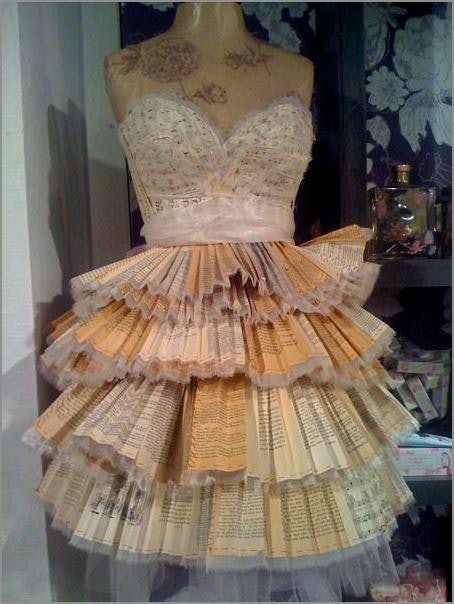 This Book Page Wedding Dress