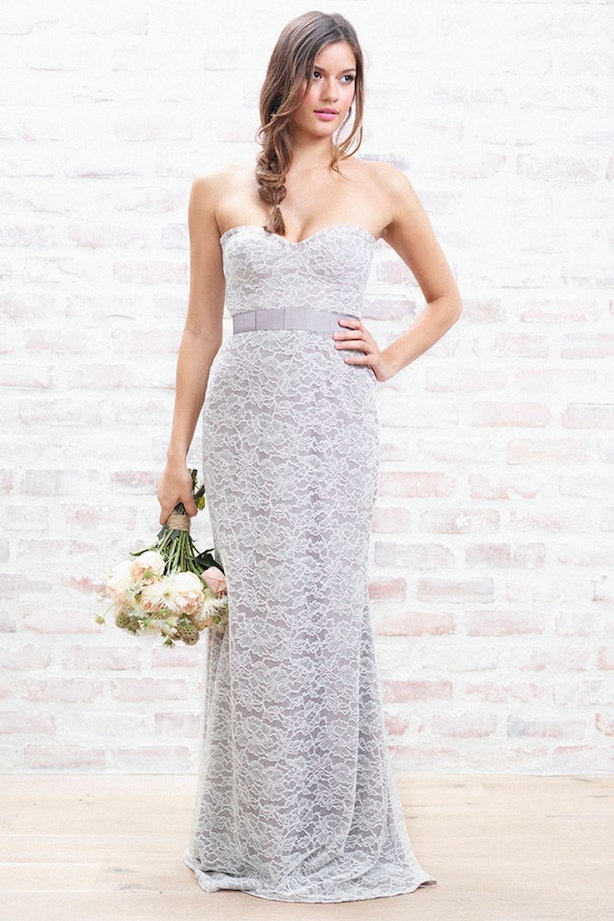 Lauren conrad 39 s new line of bridesmaid dresses are for What to wear to a wedding besides a dress