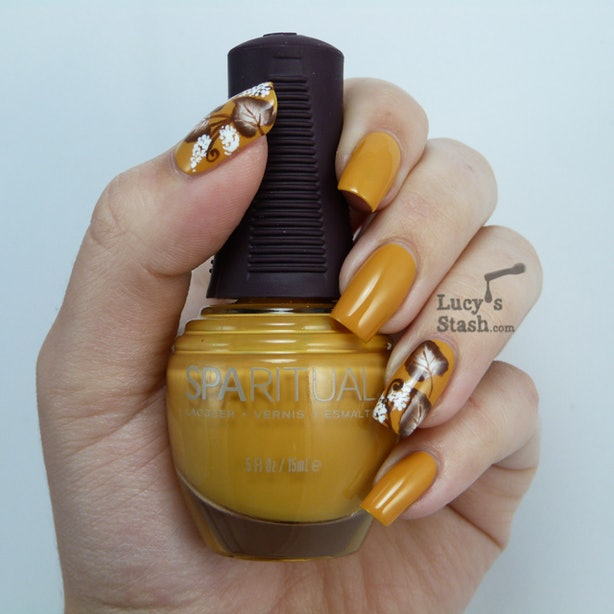 9 Fall Nail Art Ideas That Are More Exciting Than Your Basic Orange ...