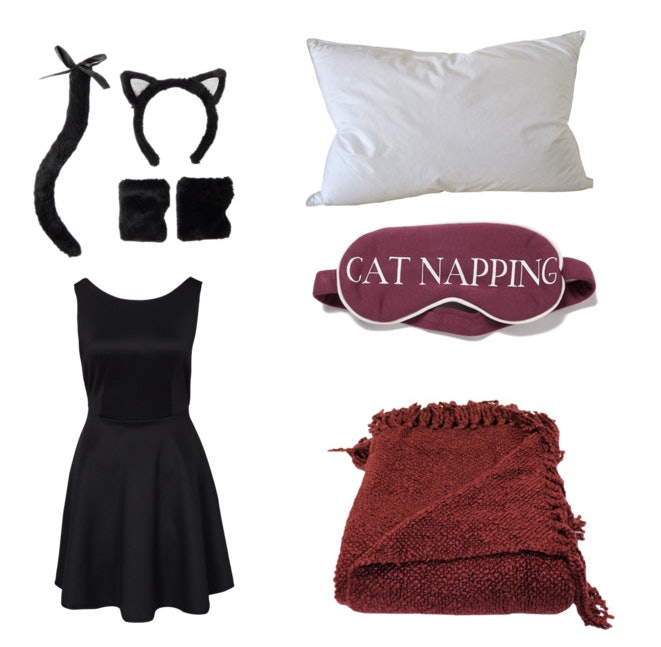 Everyoneu0027s two favorite things come together in this epic and punny couples costume cats and napping. Itu0027s a comfortable and easy costume to put together ...  sc 1 st  Bustle & 20 Clever Pun Halloween Costumes For Couples Who Are Looking For Laughs