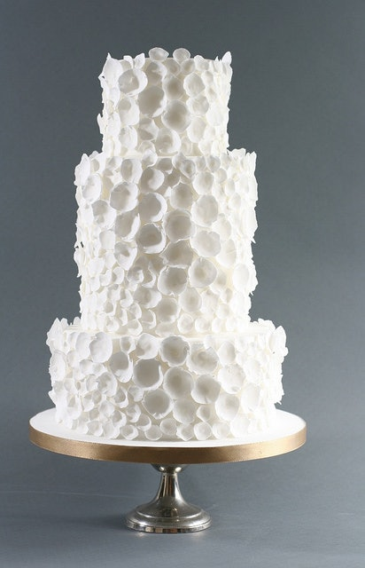 With Its Light And Fluffy Detail This Cake Would Fit In Perfectly A Winter Theme