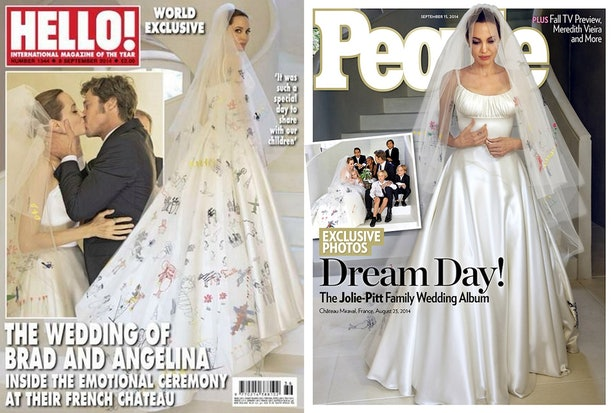 How To Dress Like Bridal Angelina Jolie For Halloween — Recreate Her ...