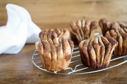 Naturally Ella's cinnamon pull apart loaves are a way to switch up your cinnamon roll recipe.