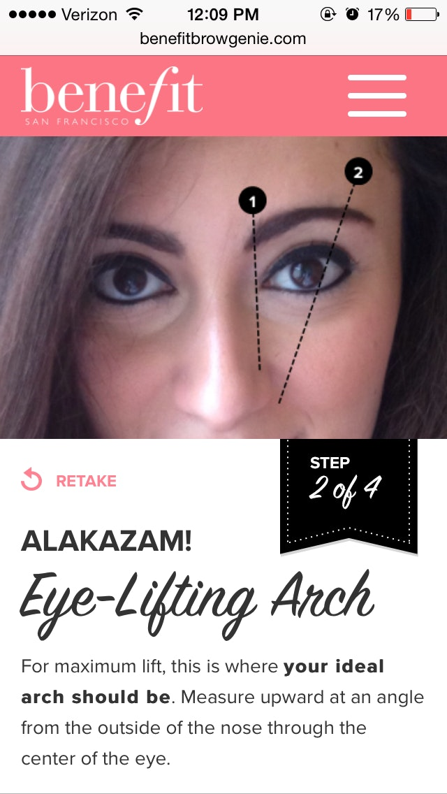 The Benefit Brow Genie App Grants Your Wish For Perfect Brows Instantly