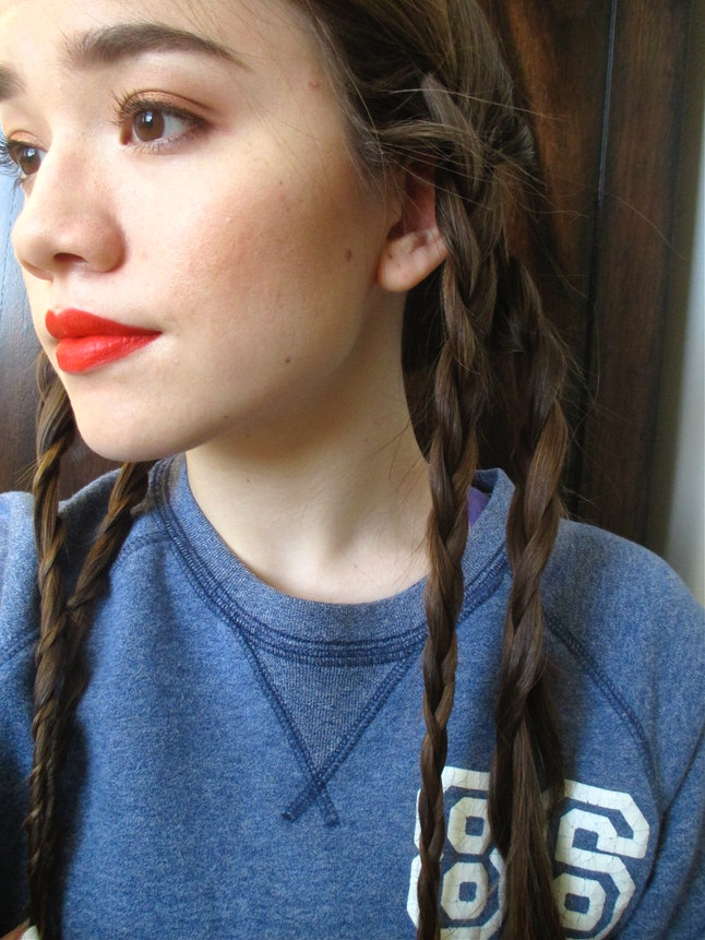 Does Straightening A Braid Actually Make Your Hair Wavy I Tried It