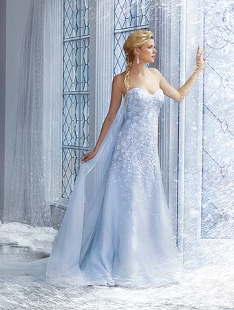 Alfred Angelo Bridal Disney Princess Capsule Collection Will Fulfill ...