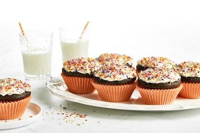 Oh She Glows' vegan chocolate cupcakes taste as good as they look.