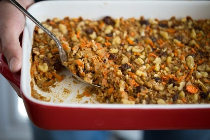 Oh She Glows transforms oatmeal into carrot cake.
