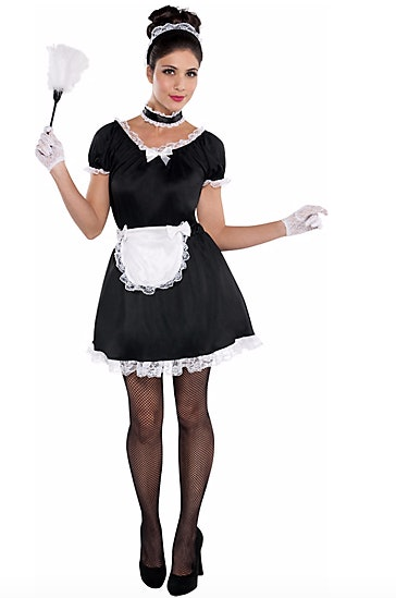 Last minute rocky horror picture show halloween costumes will help french maid costume 17 party city pink hairspray 5 amazon black feather duster 9 amazon solutioingenieria Gallery