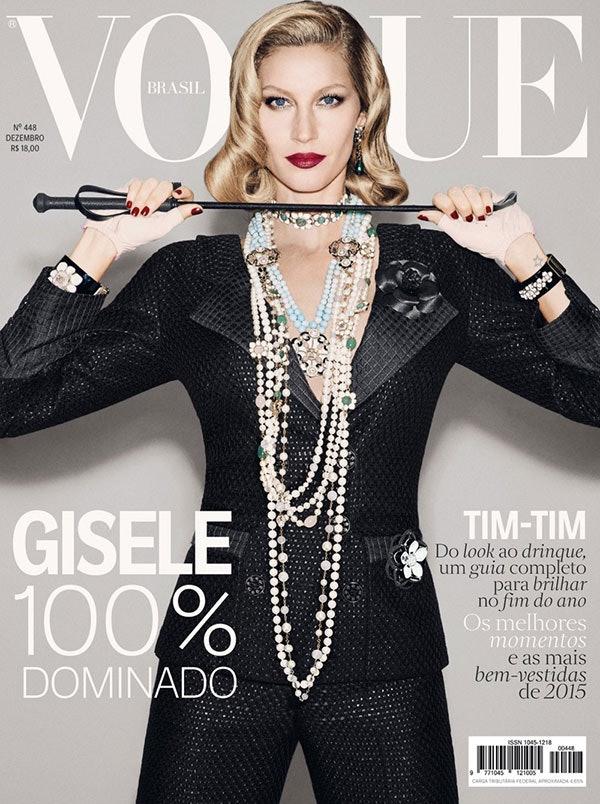 Gisele Bundchen's 'Vogue' Brazil Cover Will Make You Want ...