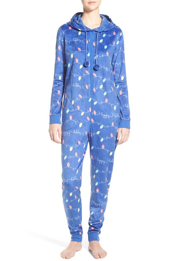 hooded one piece pajamas 48 nordstrom - Nordstrom Christmas Pajamas