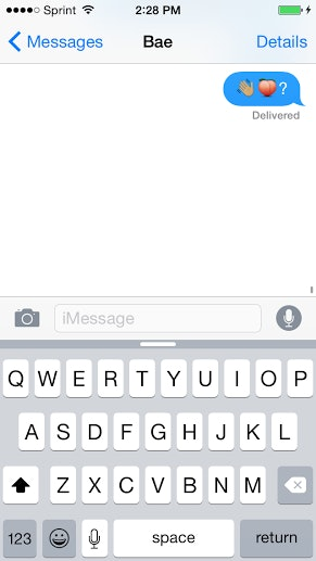 How to lowkey flirt over text