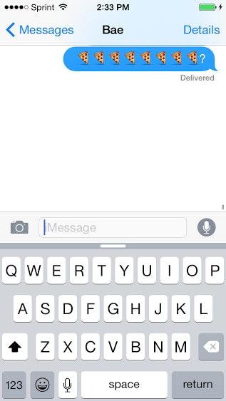cute emoji texts for your boyfriend