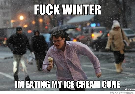 Funny Memes For Winter : 9 winter solstice memes for the first day of winter because