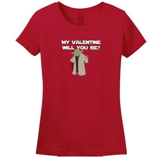 Yoda Valentineu0027s Day Shirt