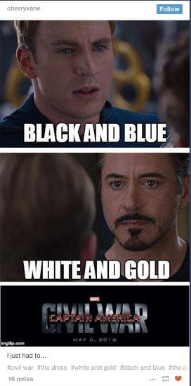3673b5f0 a0bb 0132 a2d0 0e6808eb79bf?w=614&fit=max&auto=format&q=70 blue and black dress memes obviously took over the internet last