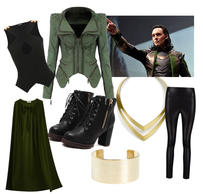 Female Loki Halloween Costume
