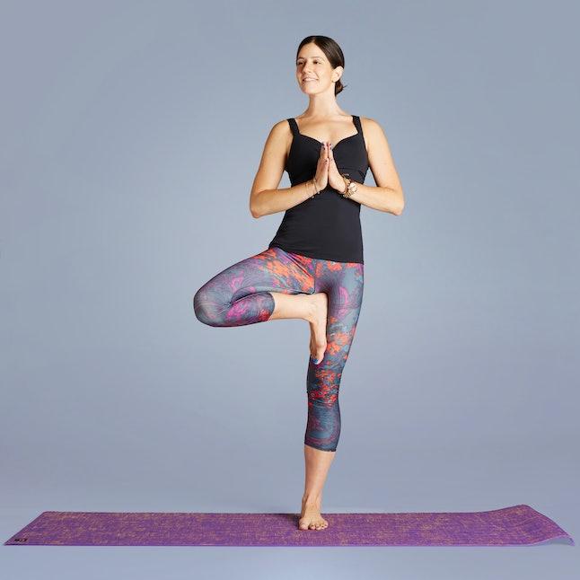 poses yoga flexible comfortable pose tree aren