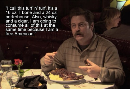 Image of: Child One Nation Under Ron Bustle Reasons To Start Drinking Whiskey According To Ron Swanson