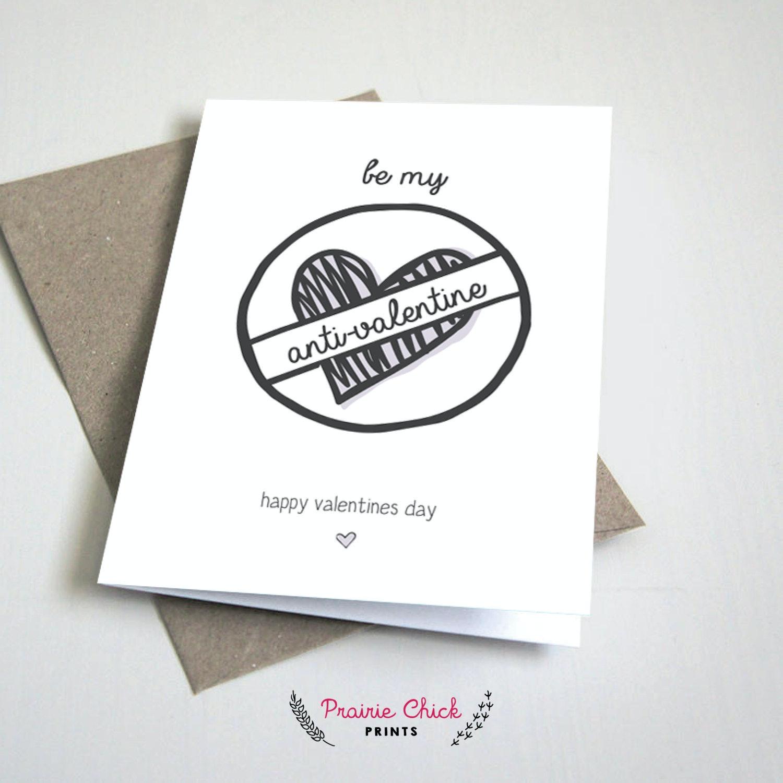 Anti Valentineu0027s Day Card, $3.33, Etsy