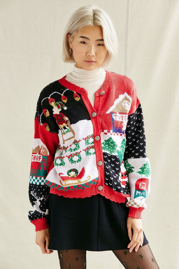 12 Cheap Ugly Christmas Sweaters For The 12 Days of Christmas