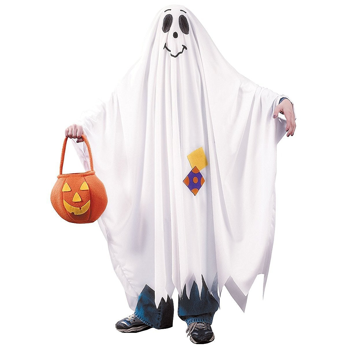 What you need A Ghost Costume $27 Amazon or a white sheet. Whether you buy a pre-made ghost outfit or cut holes in an old bed sheet this slang-based ...  sc 1 st  Bustle & 20 Last-Minute DIY Halloween Costume Ideas For 2016 That You Can ...